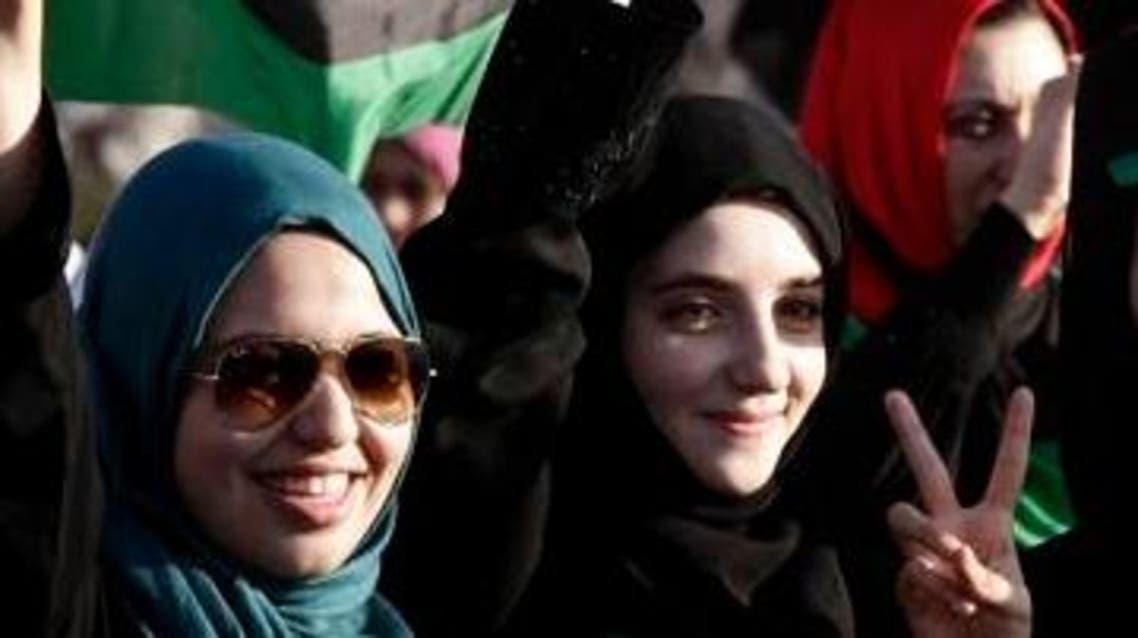 نساء ليبيات