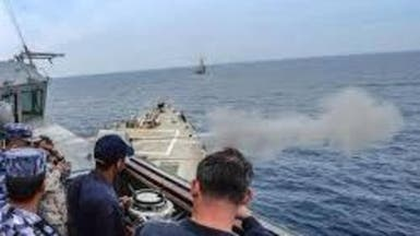 تدريبات عسكرية مصرية - أميركية مشتركة في البحر الأحمر