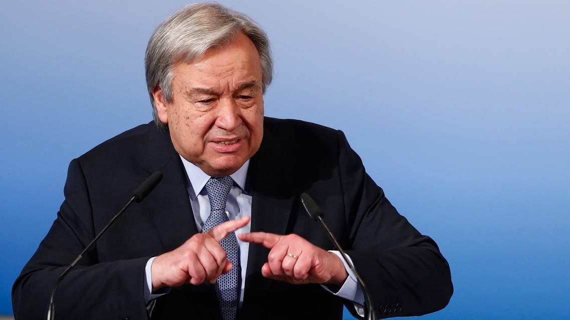 "Guterres said he would ""guarantee"" that those working under him would abide by principles that he considers right. (File photo: Reuters)"