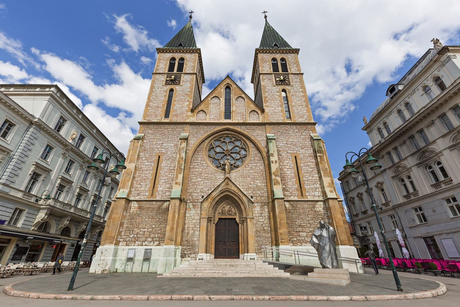 Sacred Heart Cathedral, in Sarajevo (Shutterstock)