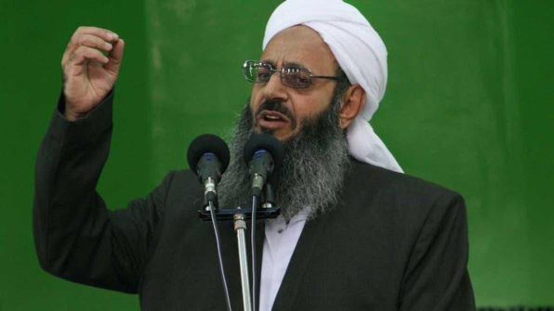 الشيخ عبدالحميد اسماعيل زهي من زعماء السنة في إيران