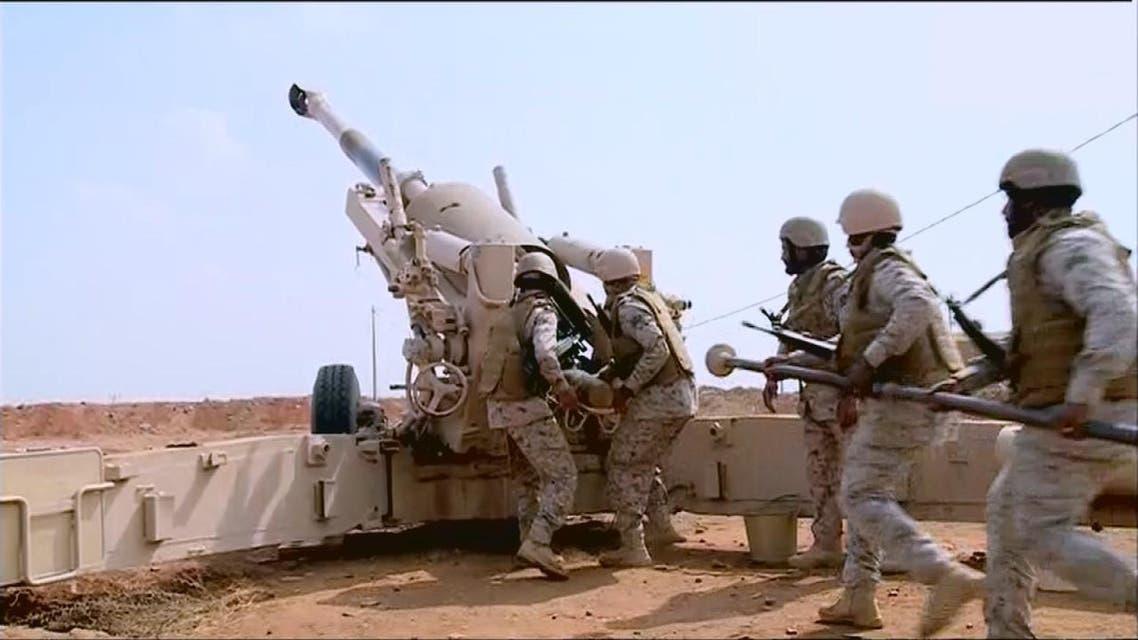 THUMBNAIL_ العربية ترصد قصف القوات السعودية للانقلابيين في مثلث عاهم بحجة
