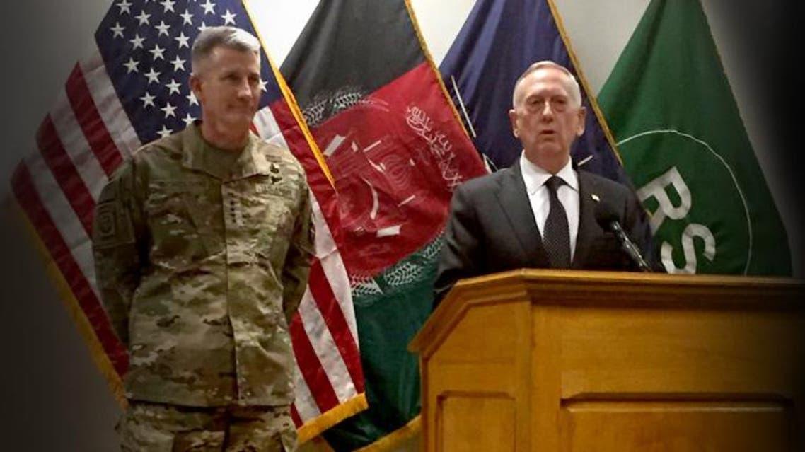 وزیر دفاع امریکا در افغانستان