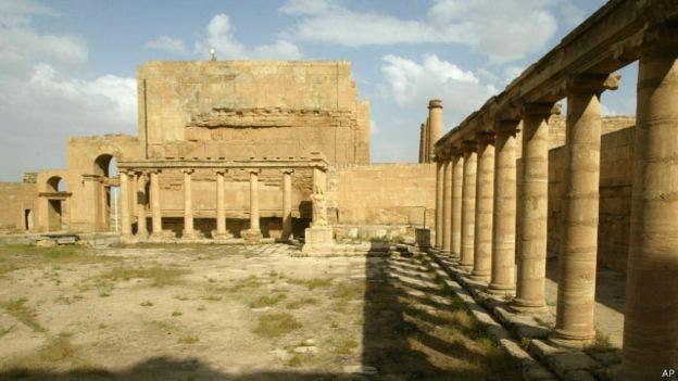 الحضر میں واقع تاریخی آثار