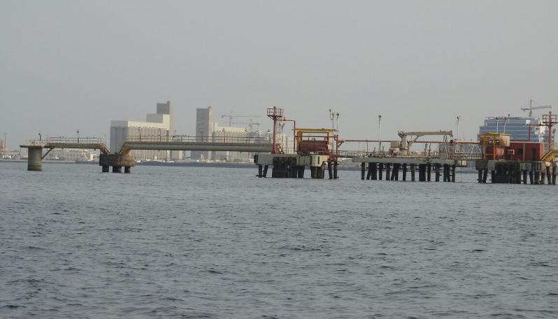 رصيف ومحطة توزيع المنتجات البترولية التابعة لشركة #أرامكو السعودية