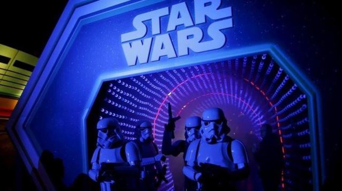 صورة من أرشيف رويترز لشخصيات من أحد أفلام سلسلة (ستار وورز/حرب النجوم)