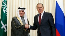 After talks in Russia, Jubeir says Syria's Assad still has to go