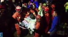 فيديو.. انتشال طفل دون العامين من بئر بعد 12 ساعة