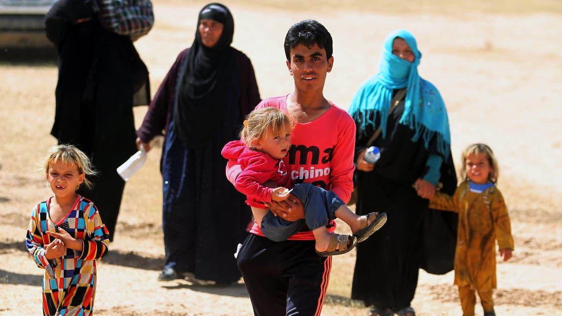 العراق نزوح