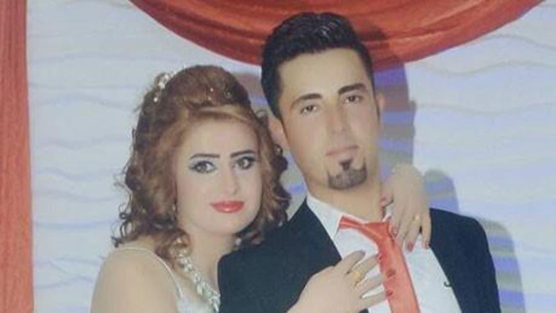 العروسان القتيلان