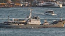 غرق سفينة حربية روسية قبالة اسطنبول وإنقاذ طاقمها