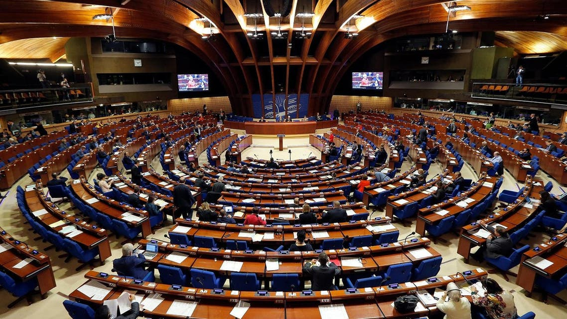 Members of the Parliamentary Assembly of the Council of Europe take part in a debate at the Council of Europe in Strasbourg, France, April 25, 2017. (Reuters)