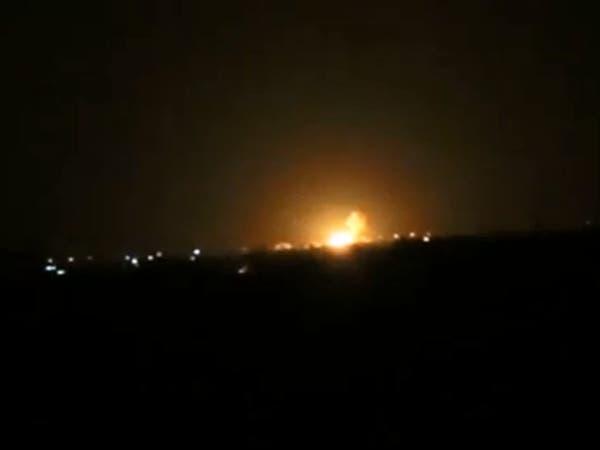 صاروخان إسرائيليان استهدفا مخازن أسلحة لحزب الله بدمشق