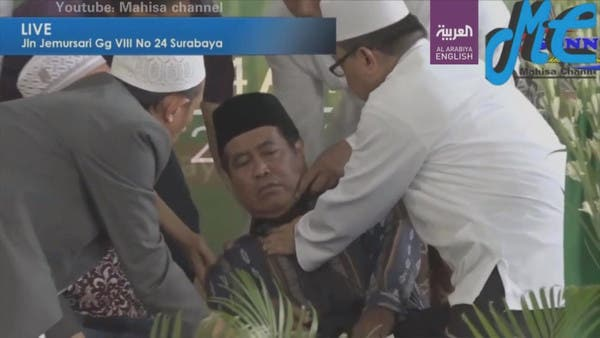 VIDEO: Indonesian dies while reciting Quran during official