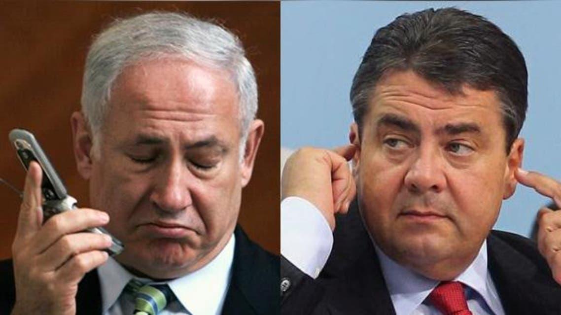 نتنياهو وغابرييل ألمانيا إسرائيل اتصال