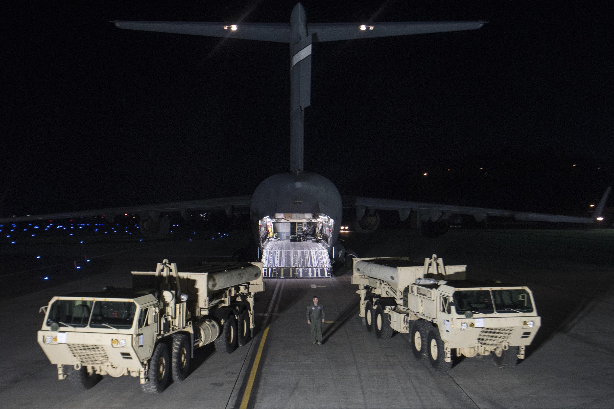 نظام ثاد الصاروخي الأميركي