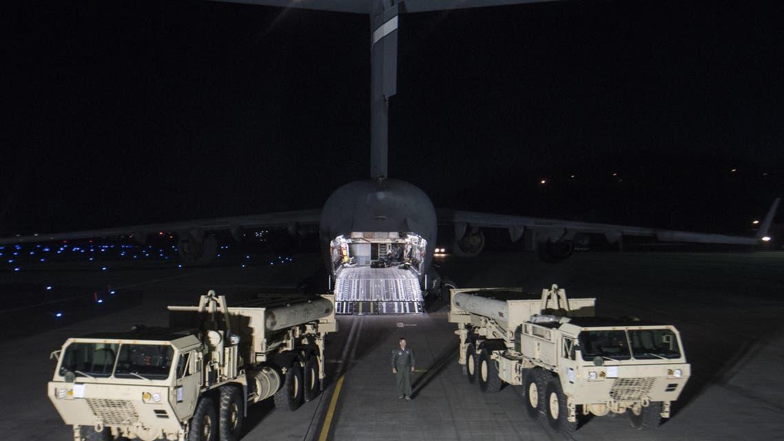 نظام ثاد الصاروخي الأميركي THAAD