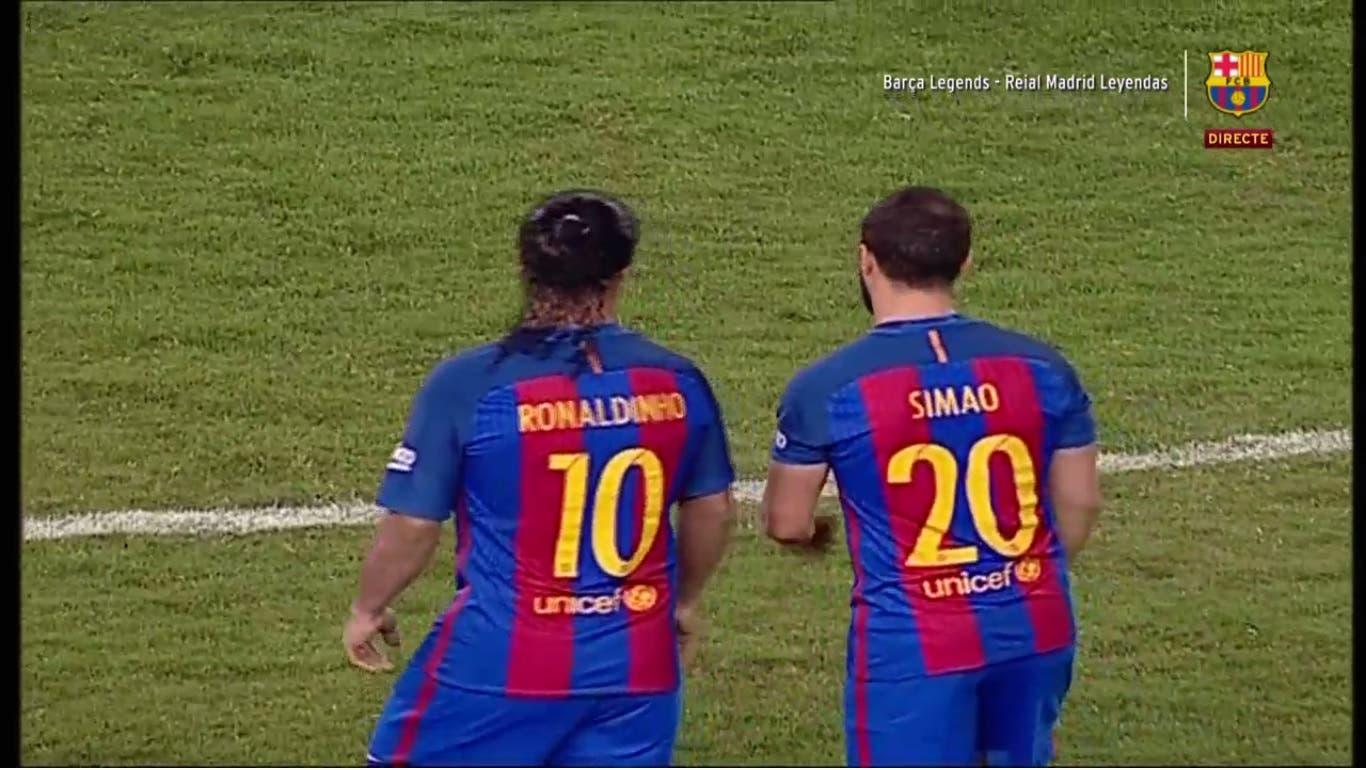 real madrid barcelona legends