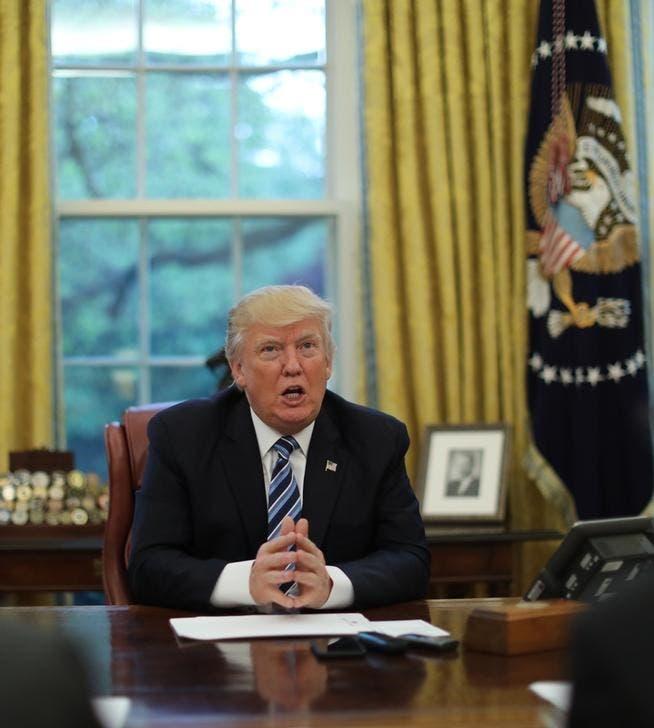 الرئيس الأميركي في مقابلة مع رويترز بالبيت الأبيض