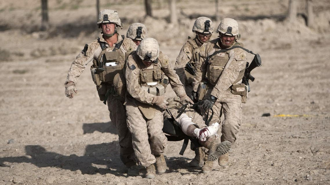 US Marines returned to Afghanistan's volatile Helmand province on April 29, 2017, the first to be deployed in the war-torn country since NATO forces ended their combat role in 2014. (AFP)
