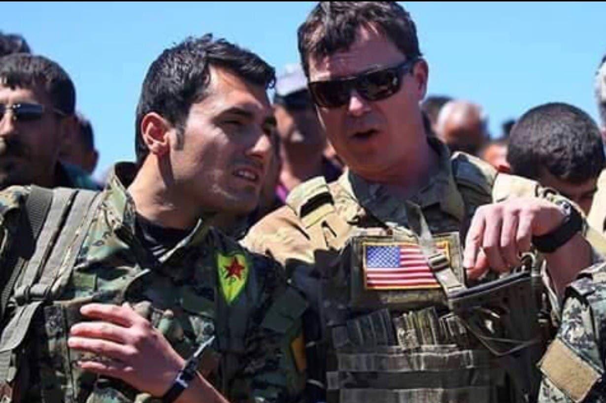 گشت زنی نیروهای آمریکا در مرز سوریه و ترکیه
