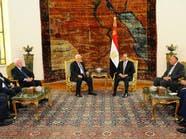 السيسي يلتقي عباس قبل زيارة الأخير لواشنطن