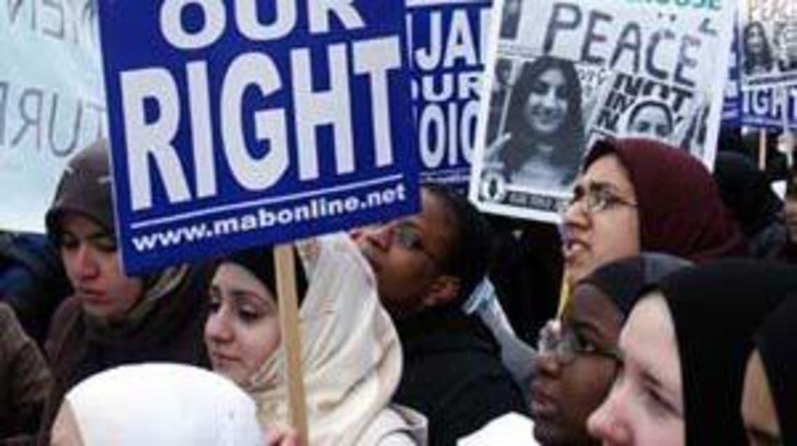 احتجاج سابق في النمسا يؤكد على حق ارتداء الحجاب