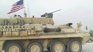 مدرعة أميركية في شمال سوريا (أرشيفية)