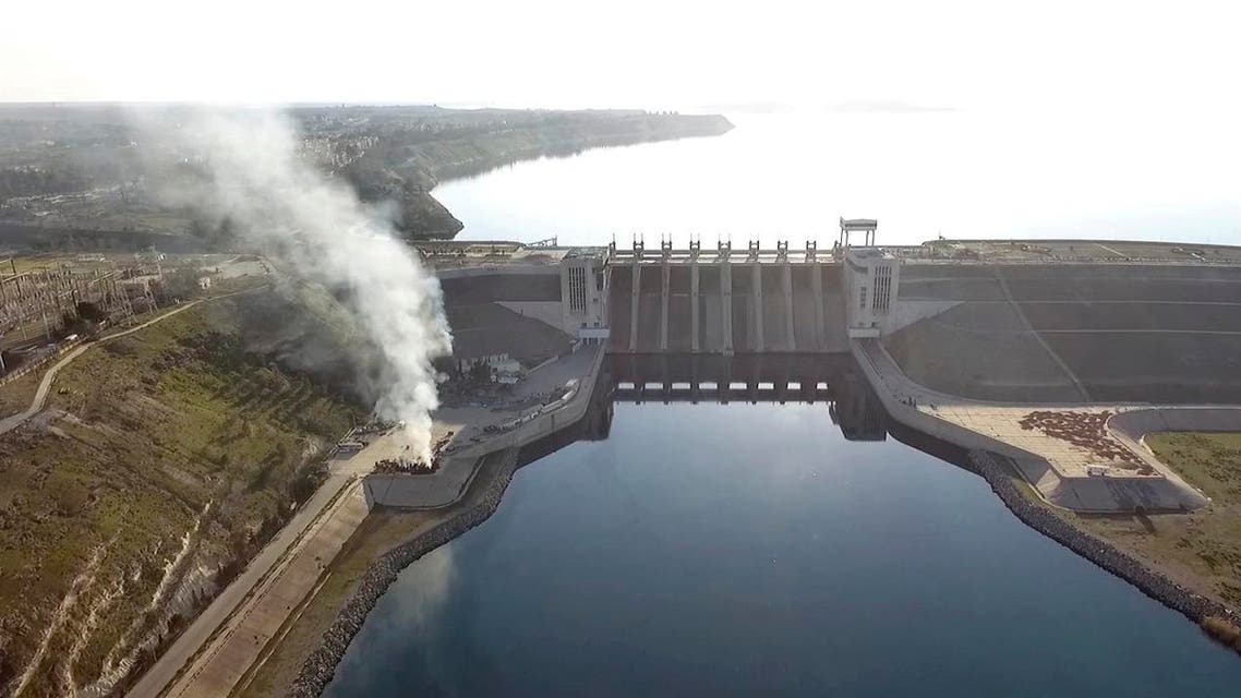 Syria said Monday paused military operations near a major dam held by ISIS. (AP)