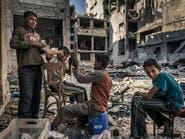 """كاميرا روسية توثق """"سوريا الأسد"""": رأس النظام فوق الدمار"""