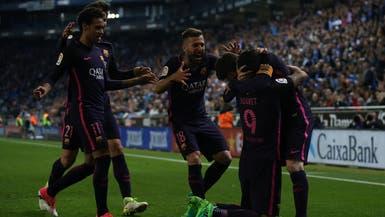 برشلونة يتفوق في ديربي كاتالونيا ويستعيد الصدارة