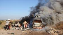 شام:حماۃ میں فضائی حملے کے نتیجے میں 8 امدادی کارکن ہلاک