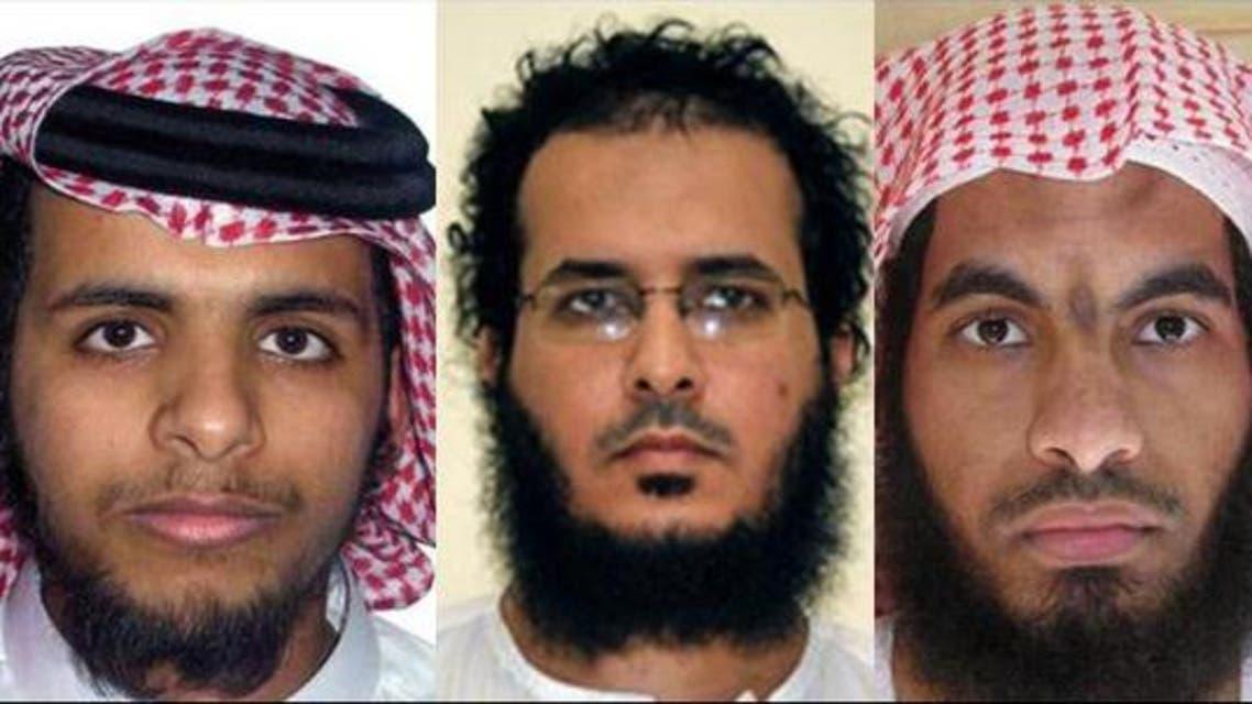 Terrorists Khalid al - Sarwani, Al - Anzi Club and Hussam Al - Juhani. (Supplied)