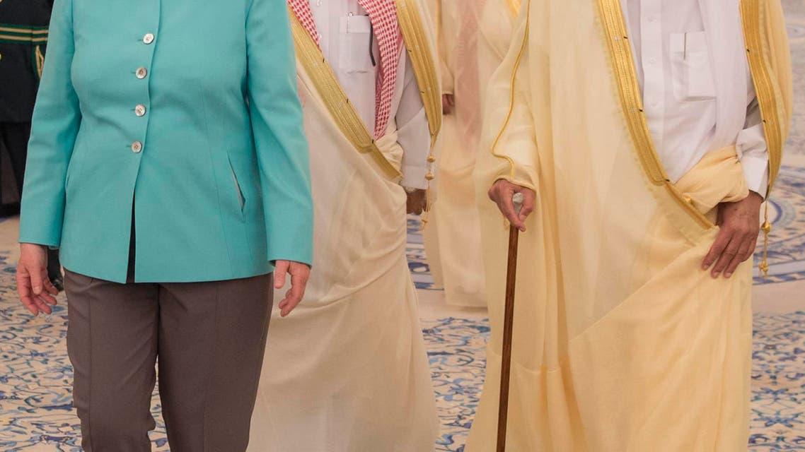 Germany's Merkel in Saudi Arabia