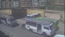 فيديو.. حادث دهس بشع لشاب مصري
