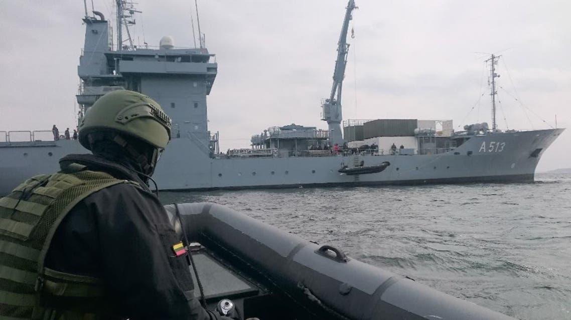 من أسطول صوفيا في البحر المتوسط