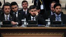 شامی باغیوں کے وفد کی اسد رجیم سے مذاکرات کے لیے آستانہ آمد