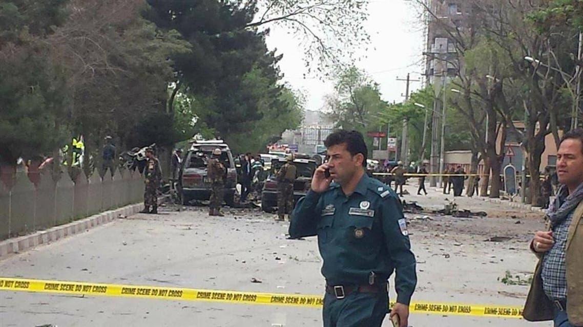 انتحاری در کابل افغانستان