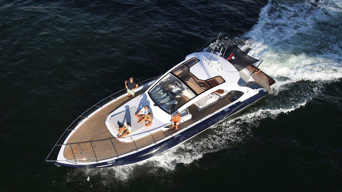 yacht stolen in Dubai (AP)