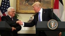 ترمب: سنعمل على تحقيق السلام بين الفلسطينيين والإسرائيليين