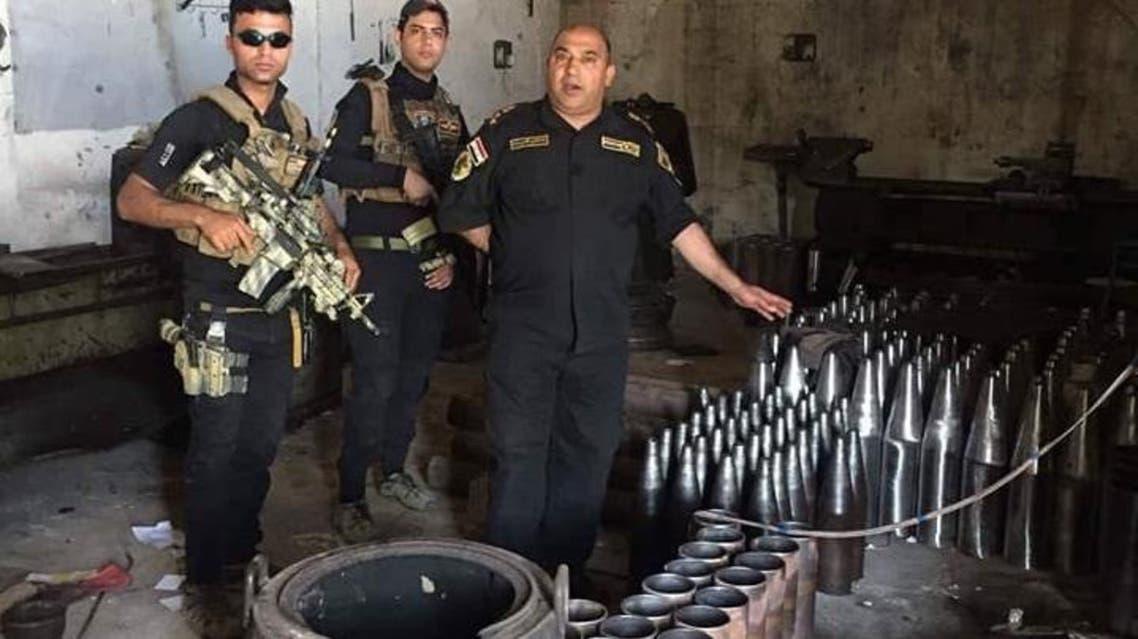 مصنع تفخيخ الموصل داعش