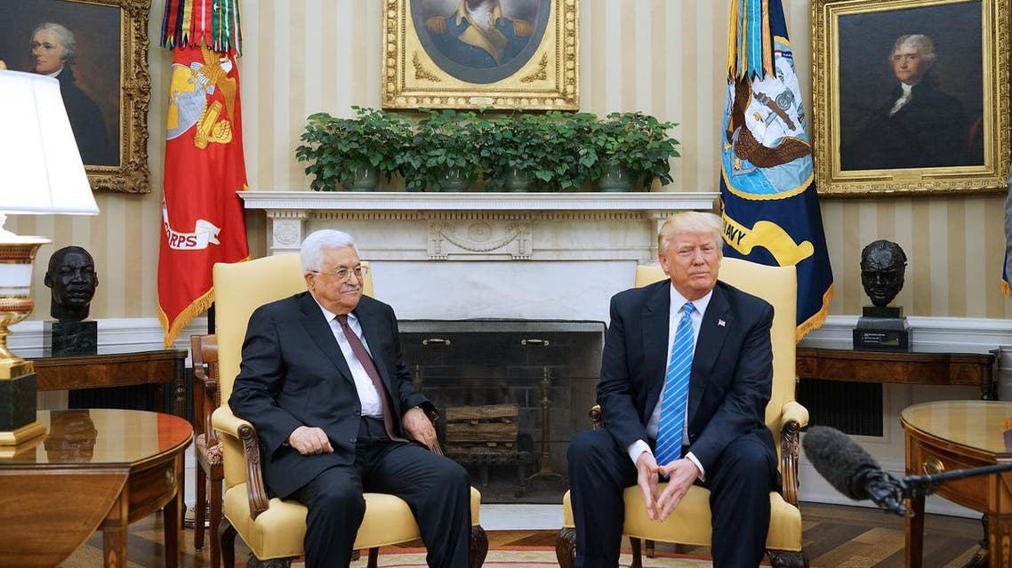 Trump committed to working with Israel and Palestinians to reach peace accord afp
