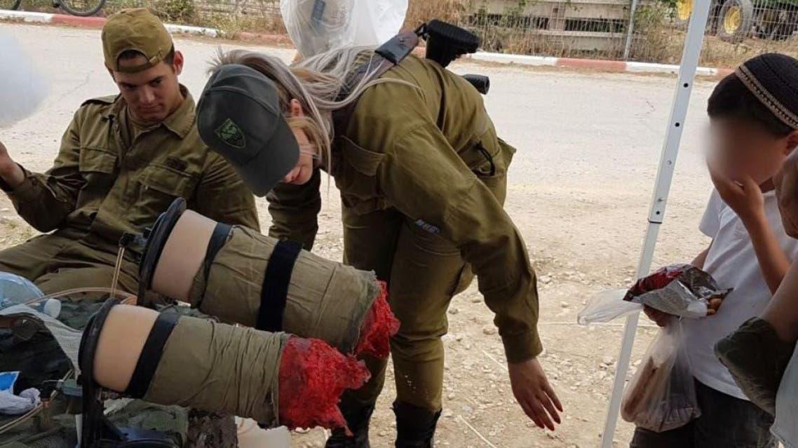 مشاهد مرعبة عرضها جيش إسرائيل على الأطفال
