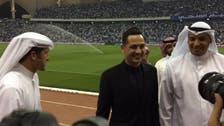 بشار والهويدي ورادوي يحتفلون مع البطل