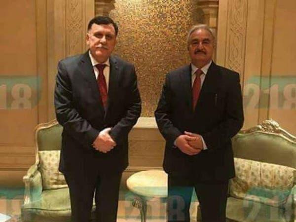 ليبيا.. تفاؤل بمستقبل الأزمة بعد تفاهم السراج وحفتر