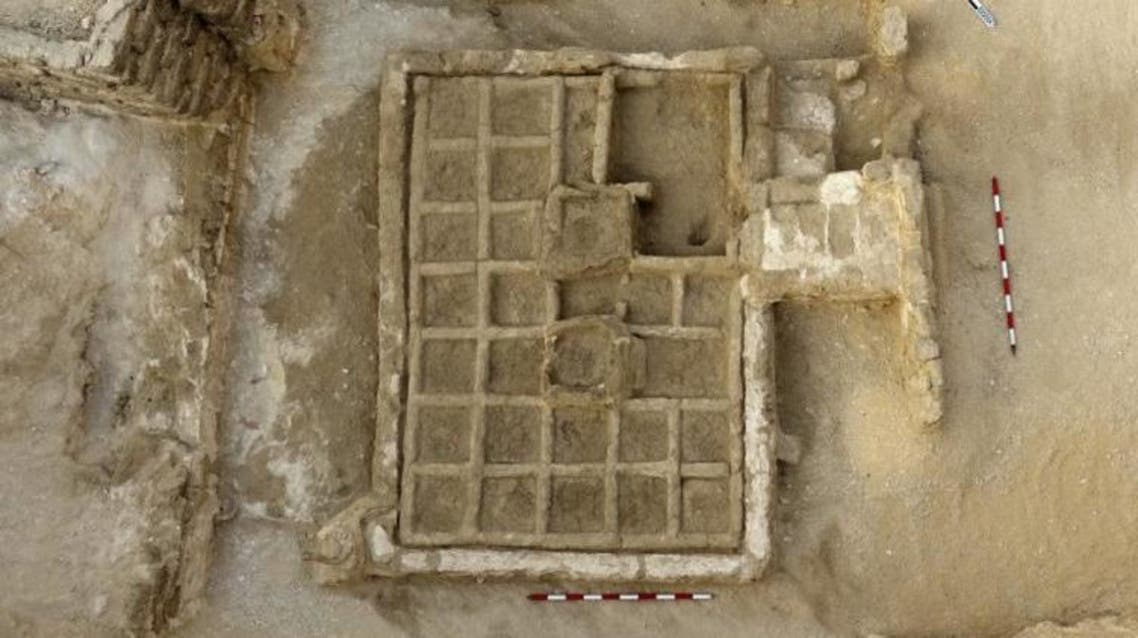 This is a funerary garden discovered by CSIC's research team. Credit: CSIC Communications