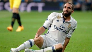 ريال مدريد يعلن نهاية موسم مدافعه كارفخال