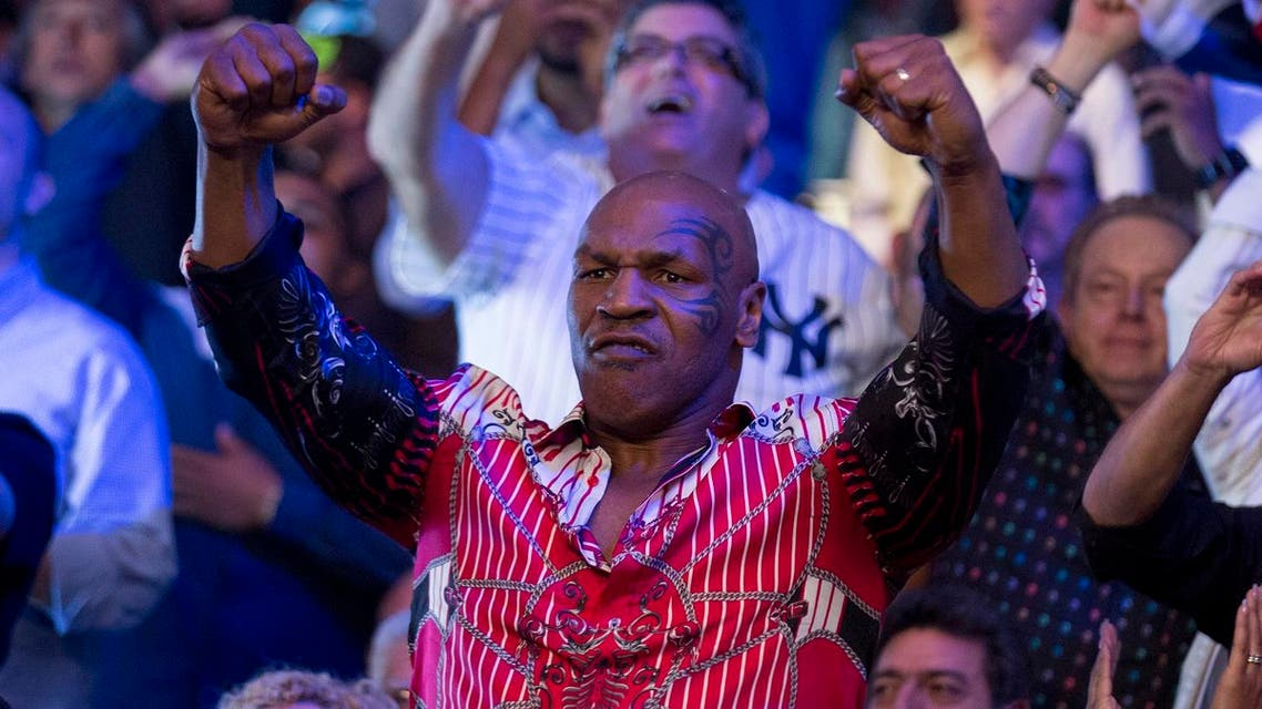 Boxer Mike Tyson attends the WBC middleweight title fight in New York June 7, 2014. (File photo: Reuters)