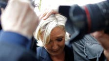 WATCH: Eggs hurled at Marine Le Pen gets by protesters in France