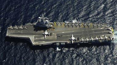 كورونا يضرب ثلث طاقم حاملة الطائرات الفرنسية ديغول